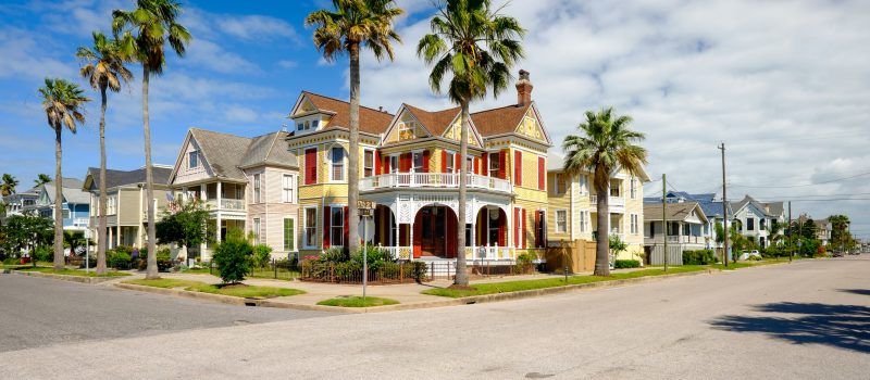 GR General stock image of houses
